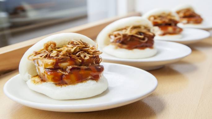 Try the steamed buns a Bao for an authentic Asian experience
