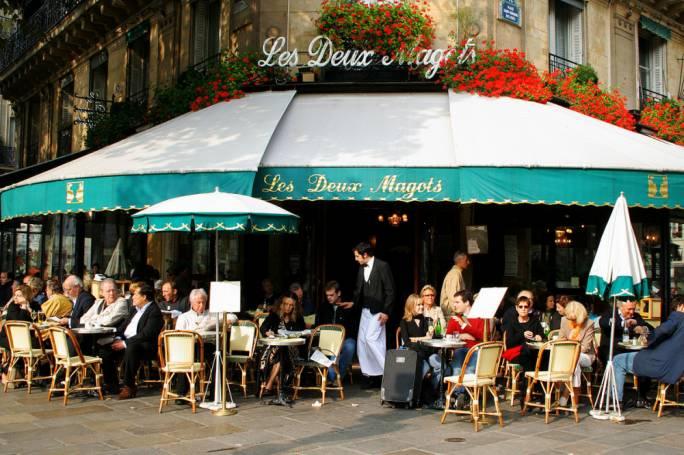 Les Cafe Deux Magots
