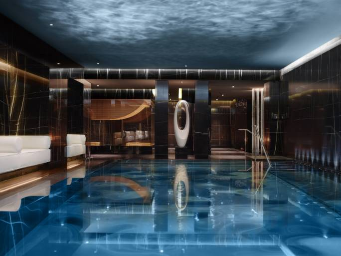 The Corinthia Hotel in Whitehall has one of the most luxurious spas in London