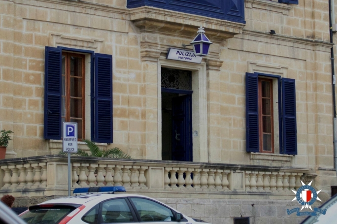 File photo of the police station in Victoria, Gozo
