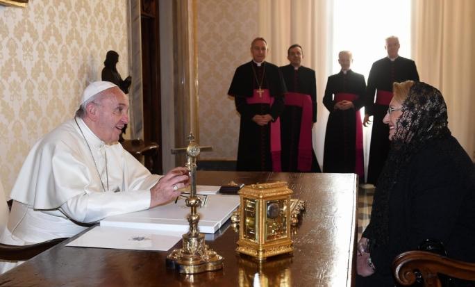 The President has invited Pope Francis to Malta (Photo: Clifton Fenech/DOI)