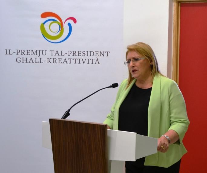 "President Marie-Louise Coleiro Preca described the award as a ""huge success"" • Photo by Jennifer Mallia"
