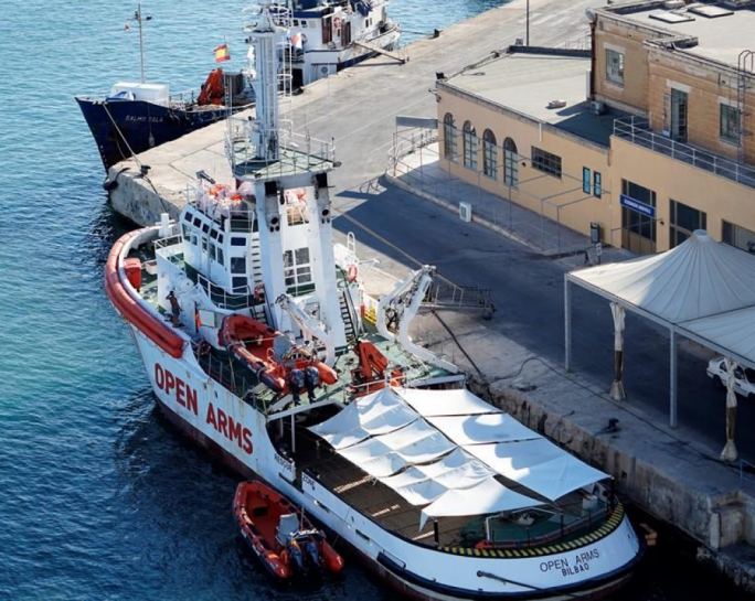 Rescue boat saves 60 in Mediterranean