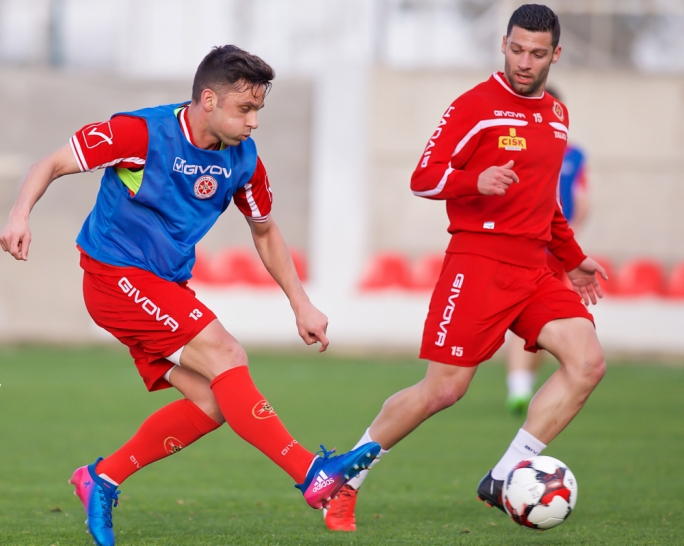 Sunday's game will mark Malta's first official outing for 2017