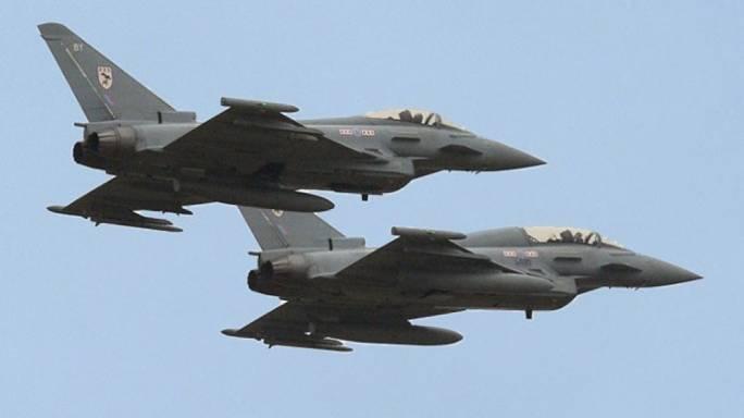 RAF warplanes scrambled after Russian fighter jets near British airspace