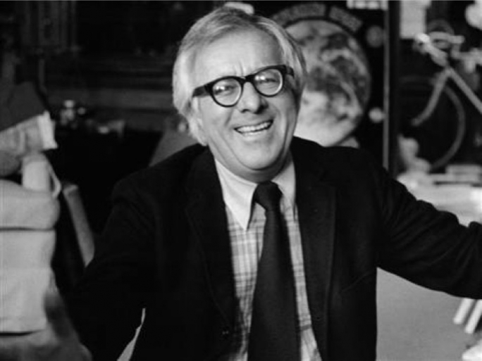 Famous among other works for his stories on space travel, author Ray Bradbury died yesterday during the Transit of Venus.
