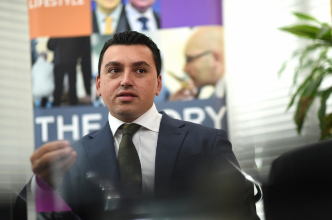 Former Labour Party youth leader and PL candidate Aaron Farrugia • Photo: Ray Attard