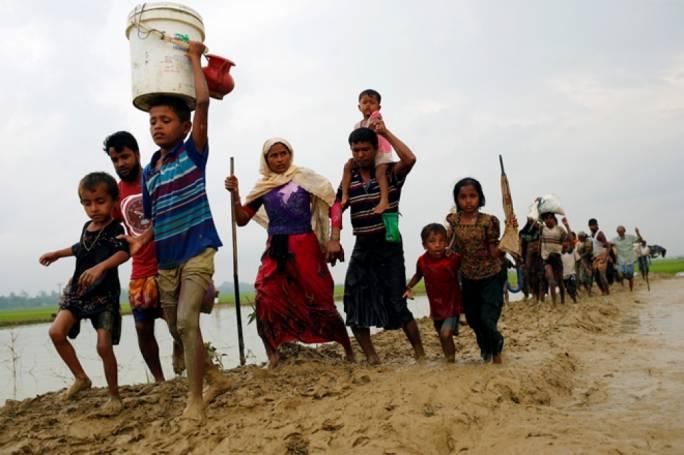 More Rohingya refugees pour into Bangladesh. Photo: Financial Express