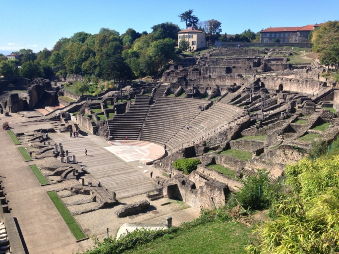 Roman theatre: Though the Roman theatre on Fourvière hill serves mostly as a tourist attraction it becomes a performance venue during the Nuits de Fourvière drama festival in June and July