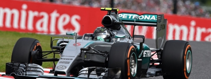 Nico Rosberg on pole for the Japan Grand Prix