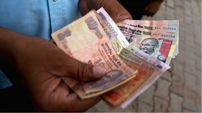 The Indian currency yesterday hit a record low of just under 69 rupees to the dollar