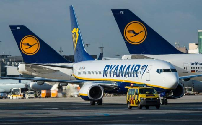 Which are the flights Ryanair has cancelled up to end-October?