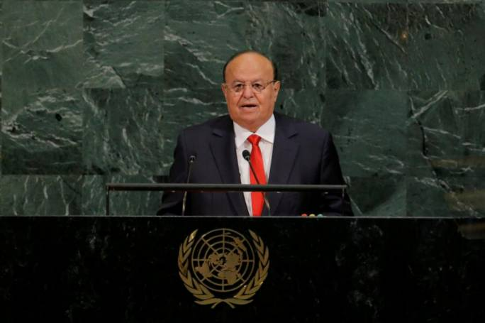 The President of the Republic of Yemen insisted that the government will continue to try and find peace for Yemeni people. [Photo: Reuters/ Lucas Jackson]