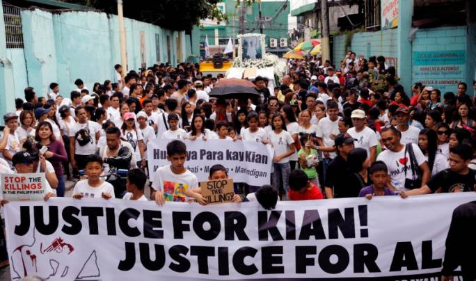 Palace on Kian: Let law take due course
