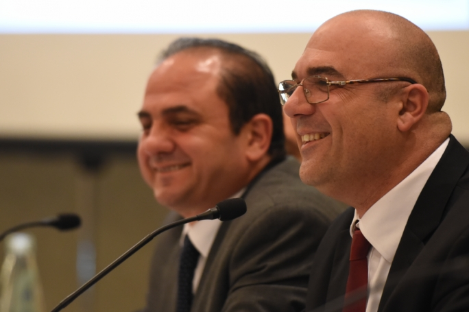 Sandro Chetcuti (right) is the president of the Malta Developers Association