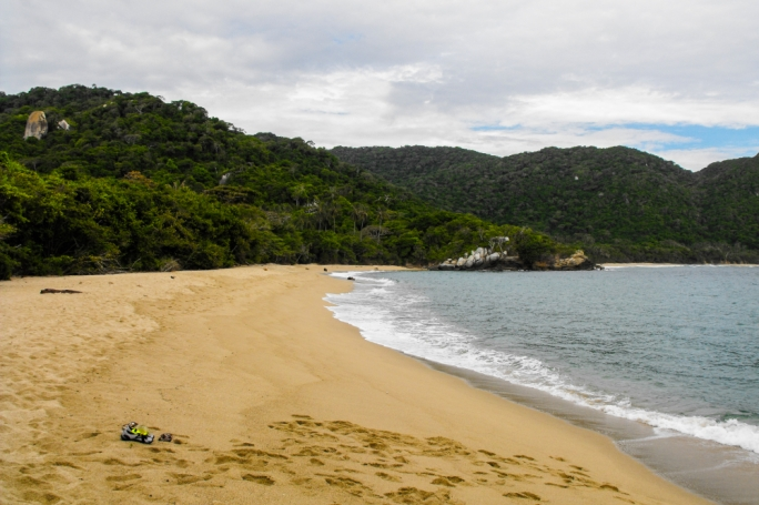Take some well-deserved time off and book yourself in for a camping trip at the beaches of Tayrona Park