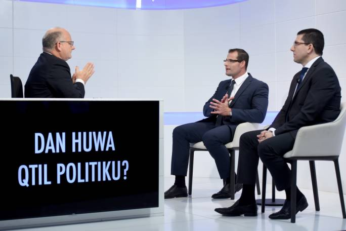 MPs Robert Abela and Clyde Puli discussed Daphne Caruana Galizia's murder on Xtra