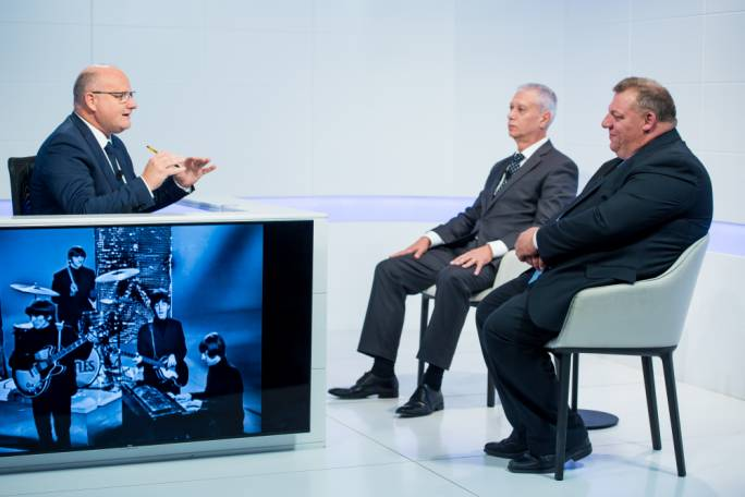 PN deputy leader for party affairs candidate Robert Arrigo and Toni Bezzina both appeared on Xtra