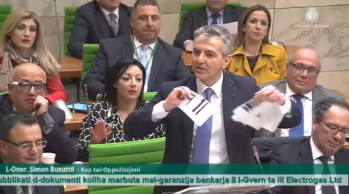 Simon Busuttil said energy contracts, as published, were completely useless