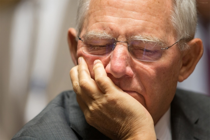 Germany's finance minister Wolfgang Schäuble