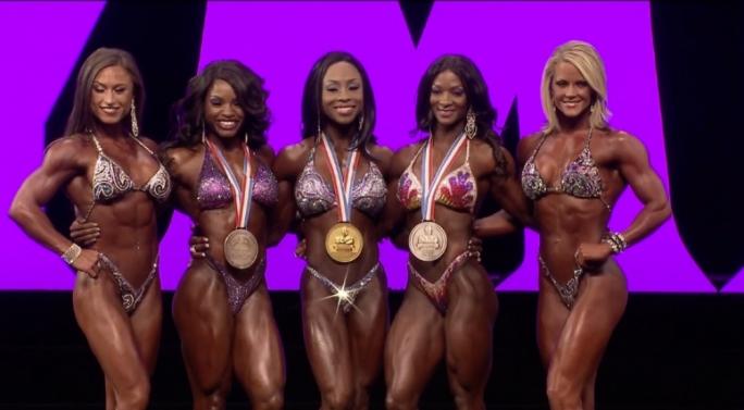 Top five Figure Olympia
