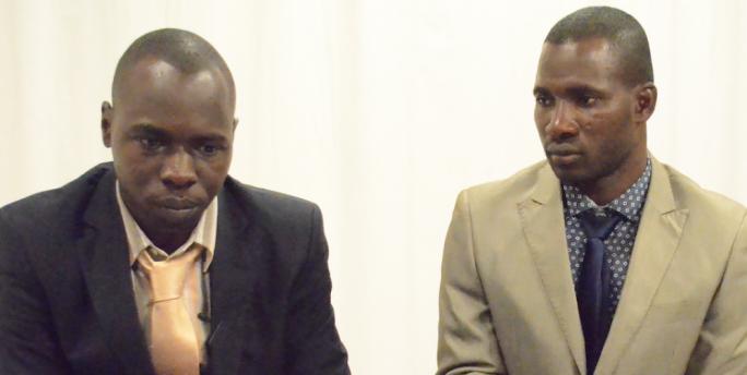 Diara Diambourou and Sekou Dipa