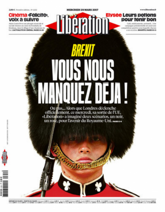 Liberation's front page