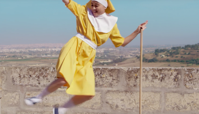 These nuns definitely have moves