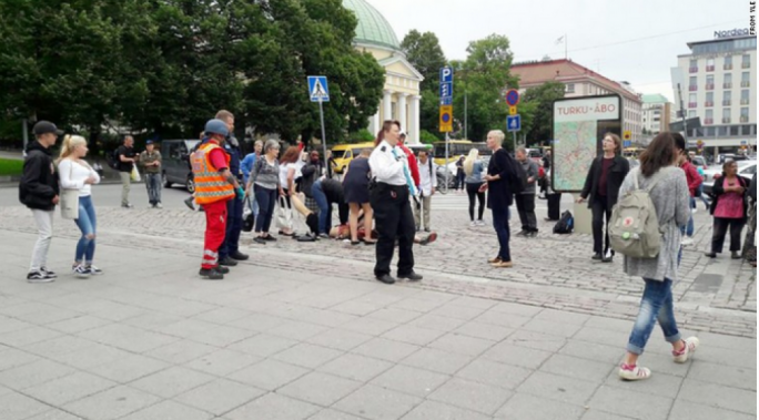 Suspected terror attack in Finland leaves several injured with stab wounds