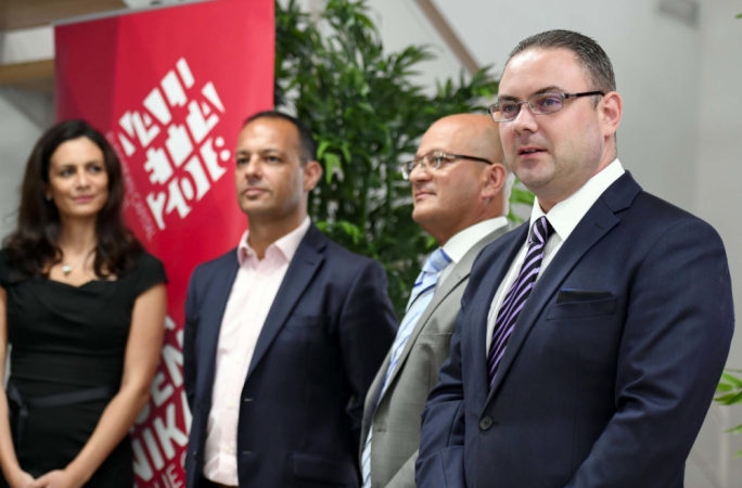 From left to right: Catherine Tabone, Jason Micallef, Deo Debattista and Owen Bonnici