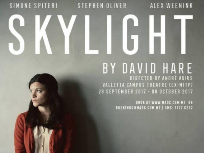 Skylight, by David Hare