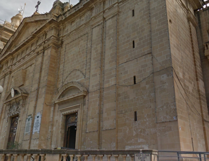 Collegiate Church of the Immaculate Conception in Cospicua.