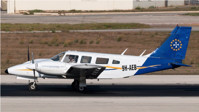 The PA-34-200T Seneca II model which was involved in the crash is a 1970s design, upgraded along the years (Photo: TVM)