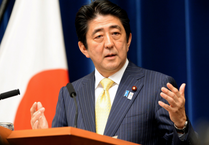'This is my responsibility as leader and my mission as prime minister', said Shinzō Abe