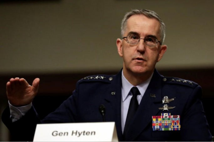 Top general says he would resist