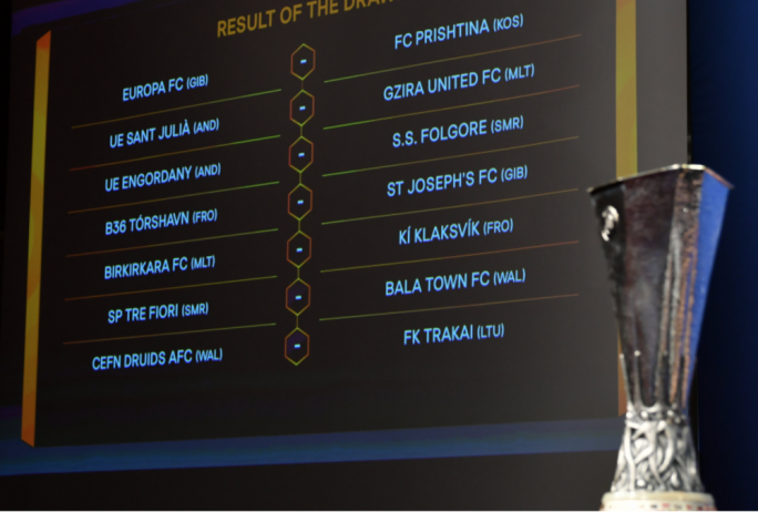 Birkirkara FC and Gżira Utd face Faroese and Andorran clubs