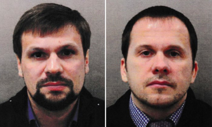 United Kingdom  names two Russians for attempted murder of Skripals with nerve agent