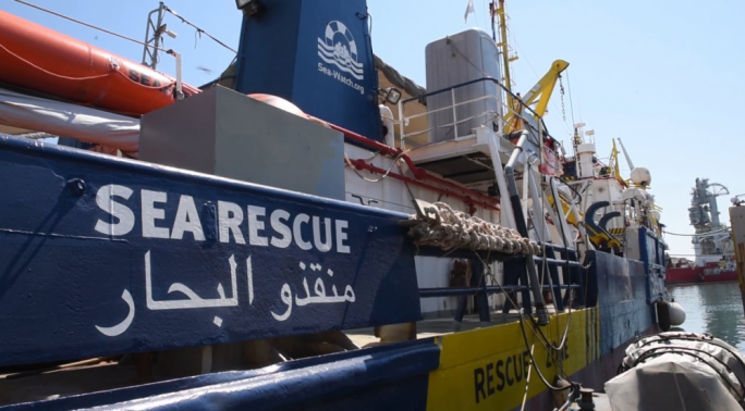 The Sea Watch 3, along with two other vessels, has been prevented from leaving Malta since 28 June