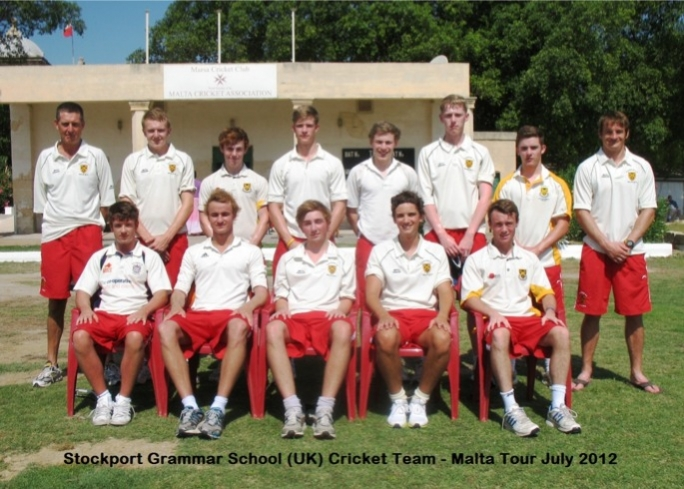 SGS Malta cricket team