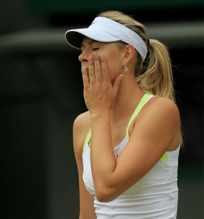 Maria Sharapova's Wimbledon adventure ended after being eliminated by Sabine Lisicki