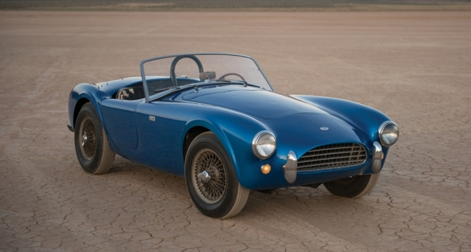 The very first Shelby Cobra – chassis CSX 2000