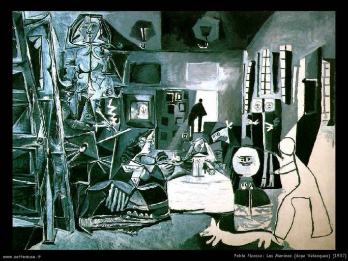 The pièce de résistance at the Museu Picasso, is the complete series of 58 canvases based on Velázquez's famous 'Las Meninas', donated by Picasso himself
