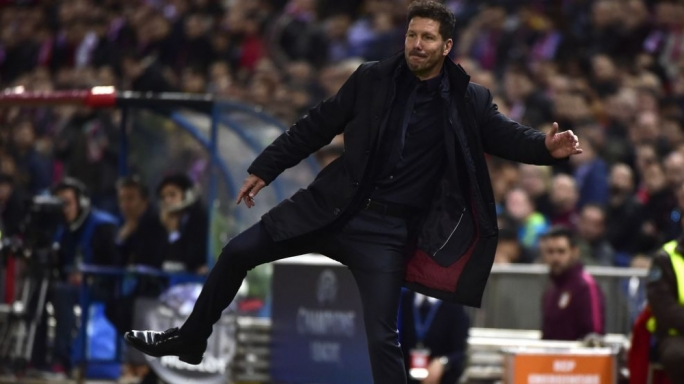 Atletico Madrid's coach - Diego Simeone