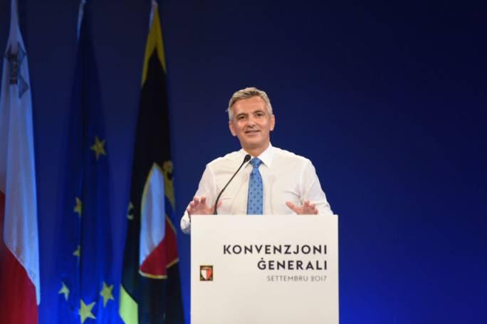 Former Nationalist Party leader Simon Busuttil