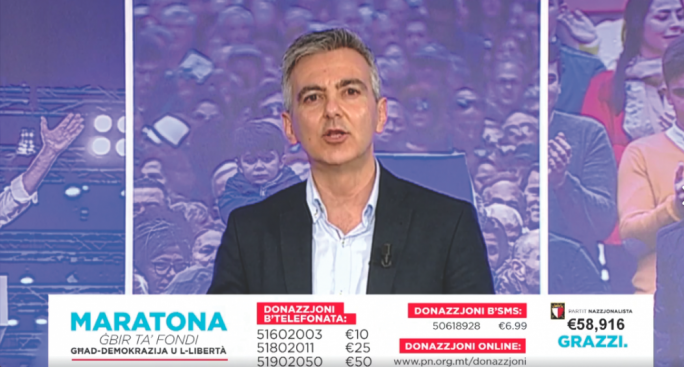 PN leader Simon Busuttil foolishly revealed a private SMS sent to him by the CEO of the db Group