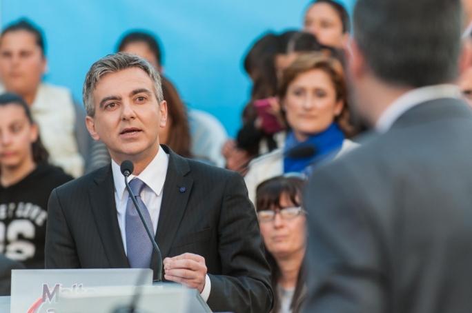 Nationalist leader Simon Busuttil