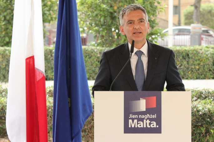 Opposition leader Simon Busuttil presents the PN's 100 proposals for Gozo