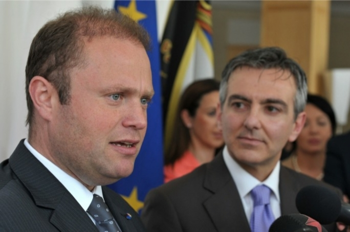 Joseph Muscat and Simon Busuttil's trust ratings have edged slightly upwards since the last survey