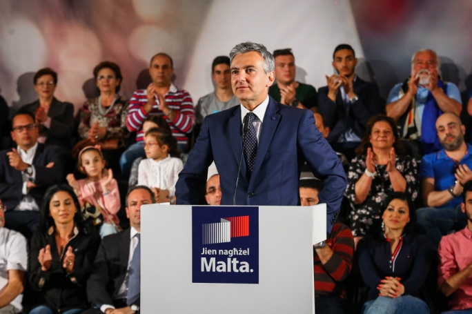Simon Busuttil insisted the election will boil down to a matter of trust