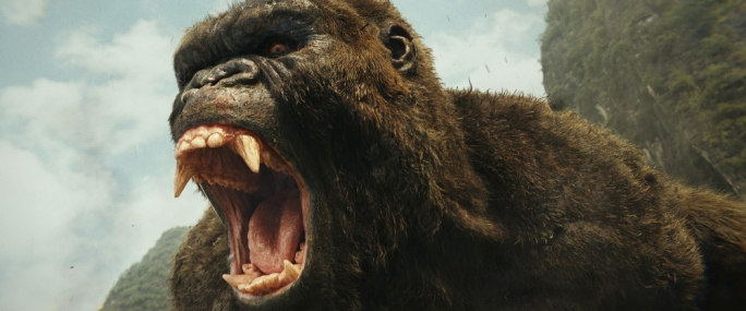 Hear him roar: Kong is back and he's having none of you pesky humans trample on his territory